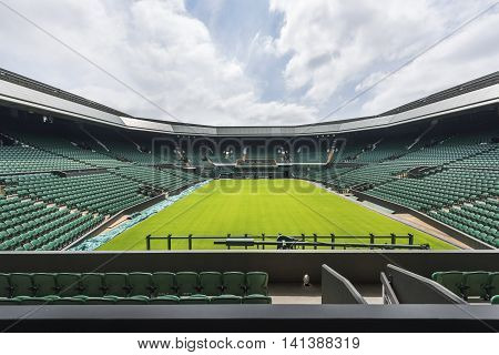 LONDON,THE UK-MAY 2016: At the central Wimbledon court