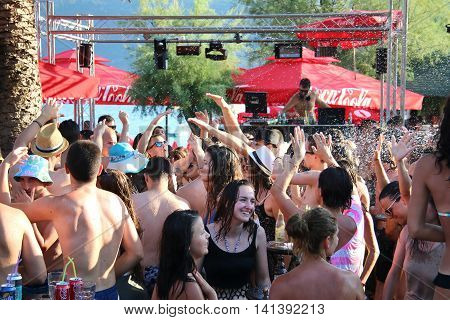 Party on the beach in Montenegro 2016