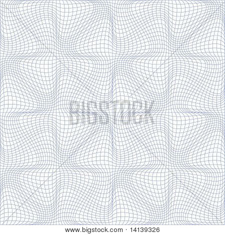 Abstract Guilloche Background