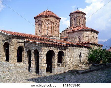 Sveti Naum Monastery near Ohrid in Macedonia