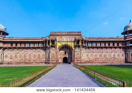 Jahangiri Mahal In Agra Red Fort
