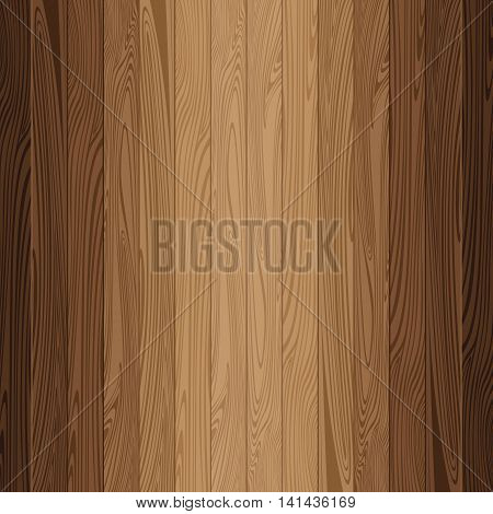 Lath boards background. Brown wooden texture background.
