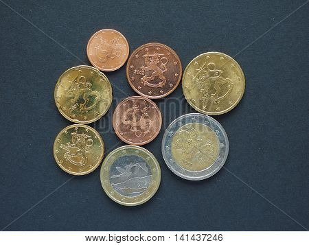 Euro Coins From Finland