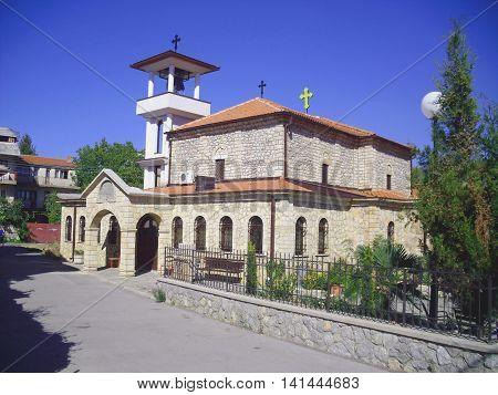 New Christian Orthodox Church in Ohrid Macedonia