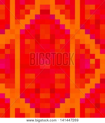 Abstract Tetragonal Background