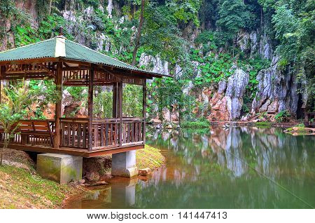 Qing Xin Ling Leisure & Cultural Village, Ipoh, Malaysia..