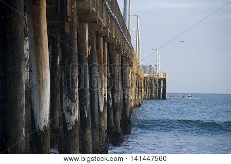 Long Avila Beach Pier, California - USA