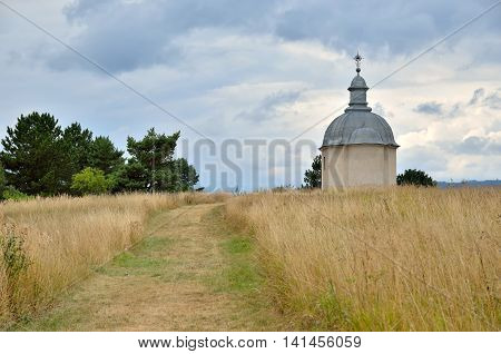 Saint Rozalia Chapel in Sopisska Kapitula Slovakia.