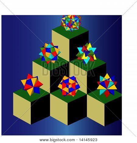 Polyhedra house