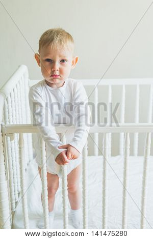 Child In The Crib