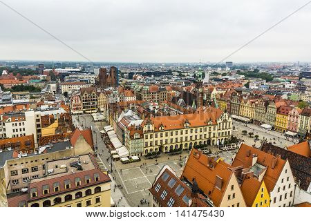 Old City In Wroclaw.