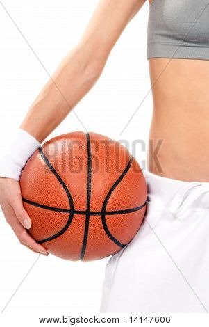 Basketball Ball In Hand Hold