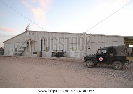 Camp Bastion Afghastan hospital