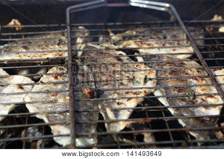 Cooking Of Fish