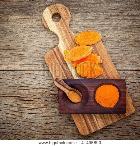 Alternative Ingralternative Ingredients For Skin Care. Homemade Scrub Curcumin Powder And Curcumin R