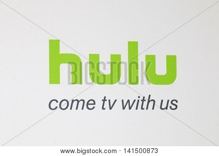 BEVERLY HILLS - AUG 5: Atmosphere, Hulu signage at the HULU Summer Press Tour 2016 at the Beverly Hills Hilton Hotel on August 5, 2016 in Beverly Hills, California