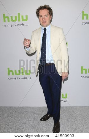BEVERLY HILLS - AUG 5: Matt Warburton at the HULU Summer Press Tour 2016 at the Beverly Hills Hilton Hotel on August 5, 2016 in Beverly Hills, California
