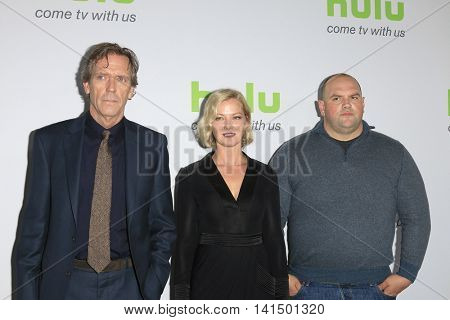 BEVERLY HILLS - AUG 5: Hugh Laurie, Gretchen Mol, Ethan Suplee at the HULU Summer Press Tour 2016 at the Beverly Hills Hilton Hotel on August 5, 2016 in Beverly Hills, California