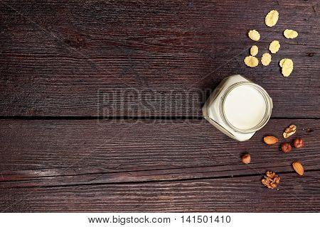 Yogurt Top View