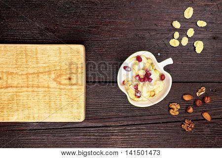 Corn Flakes Breakfast