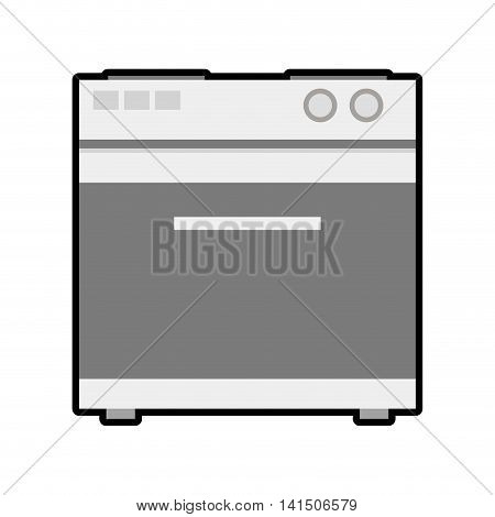 stove house technology appliance icon. Isolated and flat illustration. Vector graphic
