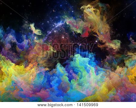 Synergies Of Space Nebula