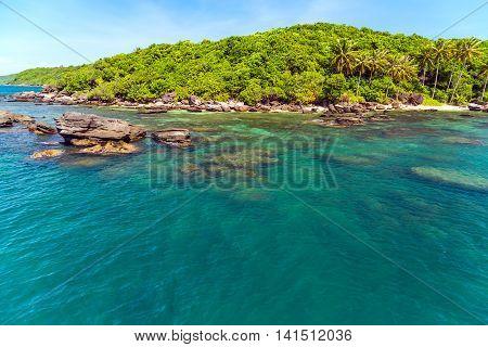 Bay Jungle Island Sea