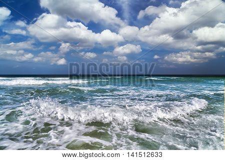 Tide Sea Summer Nature Landscape