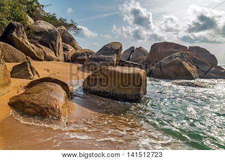 Landscape Rock Beach