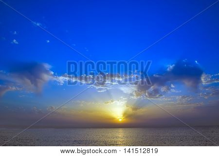 Cloud Sunset Sky Background