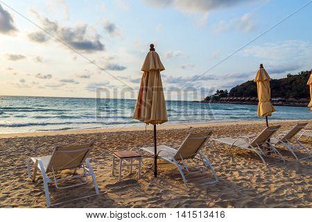 Beach And Sea Summer Nature Landscape