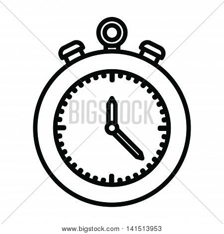 chronometer isolated icon design, vector illustration  graphic