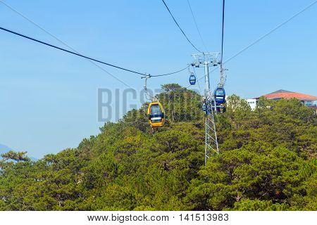 Overhead Cable Car