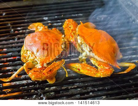 Crab Barbecue