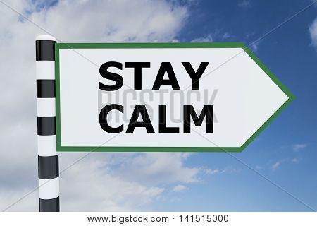 Stay Calm Concept