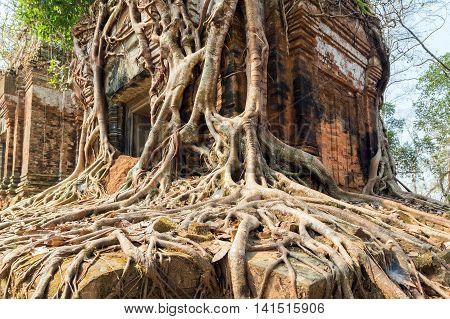Ancient Temple Koh Ke, Cambodia
