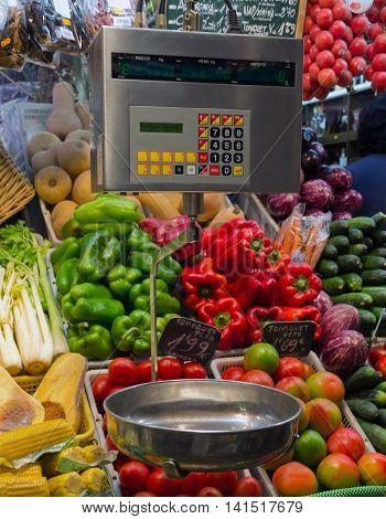 Vegetables Scales