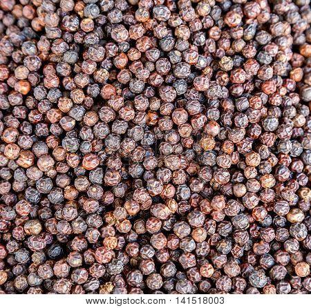 Pepper Black Dry Peppercorns