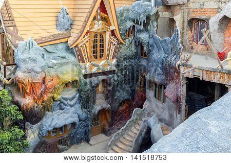Guesthouse Crazy House, Da Lat City, Landmark Vietnam