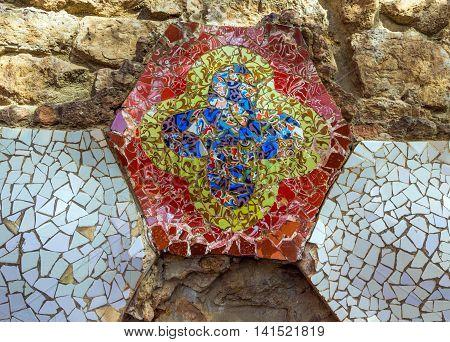 Barcelona Gaudi Ornate