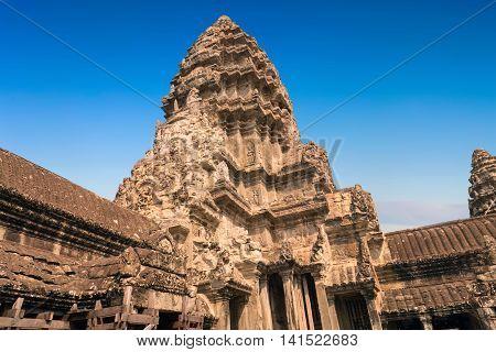 Ruin Angkor Wat, Siem Reap, Cambodia.