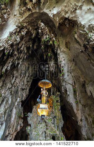 Interior Of Batu Caves, Kuala Lumpur
