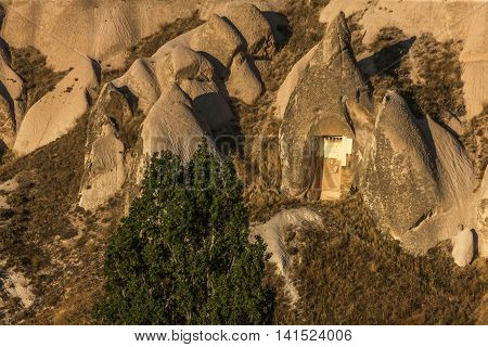 Cave House In Cappadocia, Turkey