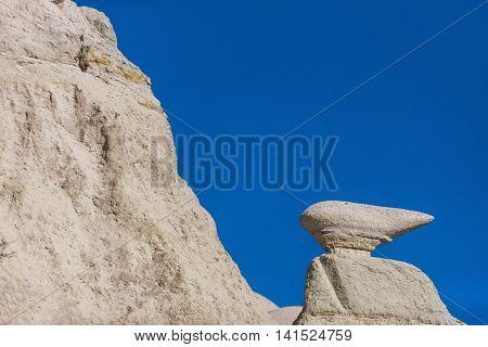 Rock Form In Cappadocia, Turkey