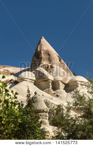 Fairy Chimney In Cappadocia, Turkey
