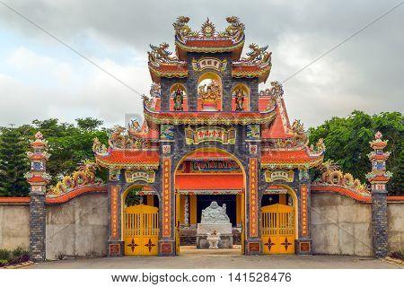 Statue In Vietnam Is In Danang