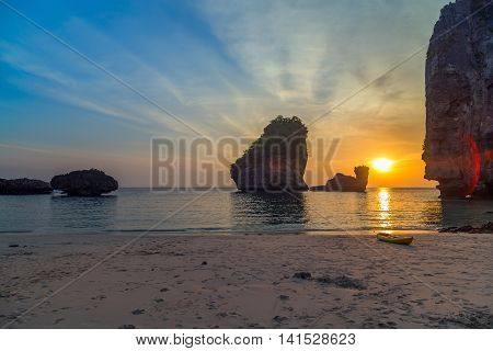 Nui Bay South Of Thailand