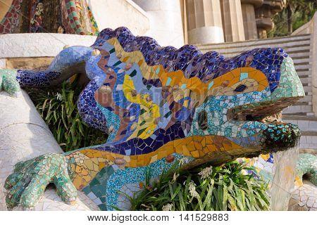 Fountain Mosaic Salamander
