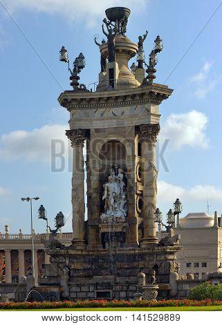 Fountain Of Plaza De Espana