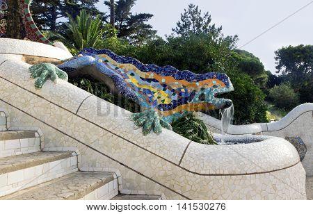 Lizard By Antoni Gaudi